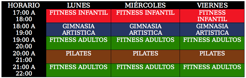 Horario Health and Energy
